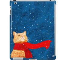 Tabby loves Snow iPad Case/Skin