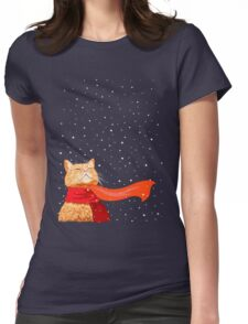 Tabby loves Snow T-Shirt