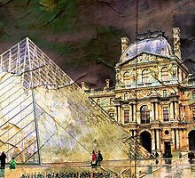 Parisian Mosaic - Piece 23 - On the Edge Between Modern and Ancient by Igor Shrayer