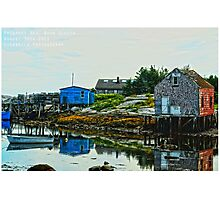 Prospect Bay, Nova Scotia Photographic Print