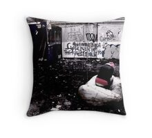Evil is good perverted.... Throw Pillow