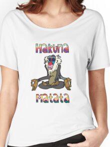 Yoga Rafiki - Hakuna Matata Women's Relaxed Fit T-Shirt