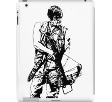 Daryl Dixon Walking Dead  iPad Case/Skin