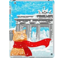 Christmas Cat (Tabby) iPad Case/Skin