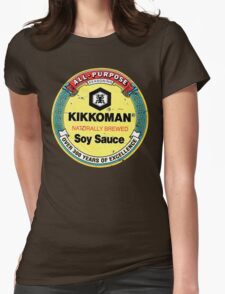 Soy Sauce Womens Fitted T-Shirt