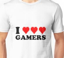I Heart Gamers Unisex T-Shirt