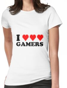 I Heart Gamers Womens Fitted T-Shirt