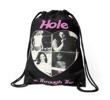 Live through this Drawstring Bag