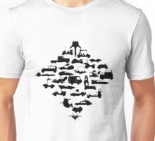Oldschool Transportation Unisex T-Shirt