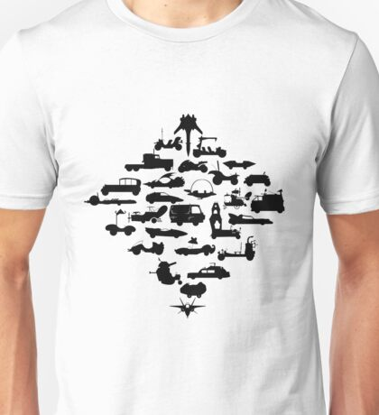 Oldschool Transportation Unisex T-Shirt