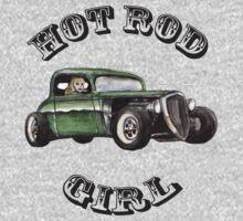Hot Rod Girl Tee Baby Tee