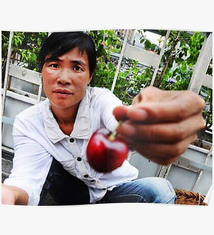 """Cherry Vendor""  Poster"