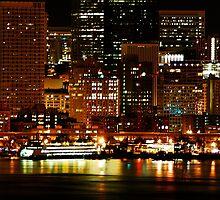 Night Lights of Seattle by Tori Snow