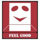 FEEL GOOD (STICKER) by Anthony Trott