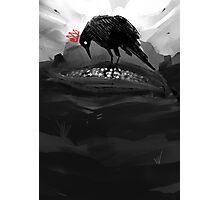 The Crow King I Photographic Print
