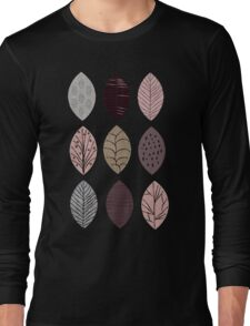 Nature Inspired Leaves  Long Sleeve T-Shirt