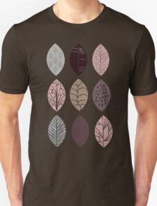 Nature Inspired Leaves  Unisex T-Shirt