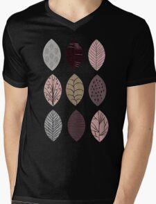 Nature Inspired Leaves  Mens V-Neck T-Shirt