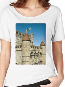 Gravensteen Castle Women's Relaxed Fit T-Shirt