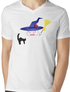 Kitty-chan messed up! Mens V-Neck T-Shirt