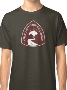 Going-to-the-Sun Road Sign Classic T-Shirt