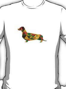 Dachshund - geometric Wiener! T-Shirt