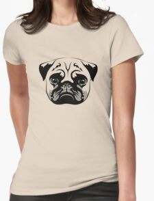 PUG Womens Fitted T-Shirt