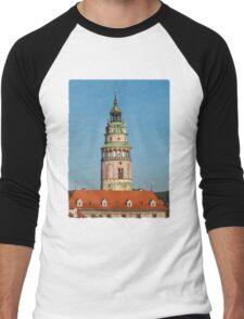 Cesky Krumlov Castle Men's Baseball ¾ T-Shirt