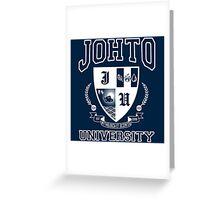 Johto University Greeting Card