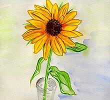 A Wild Sunflower by Anne Gitto