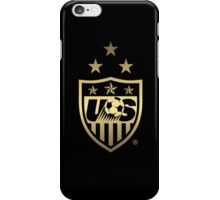USWNT Black and Gold Crest iPhone Case/Skin