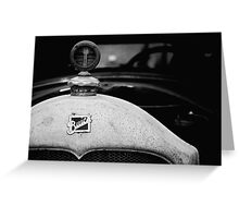 Buick in Black & White  Greeting Card