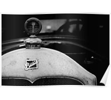 Buick in Black & White  Poster