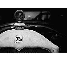 Buick in Black & White  Photographic Print