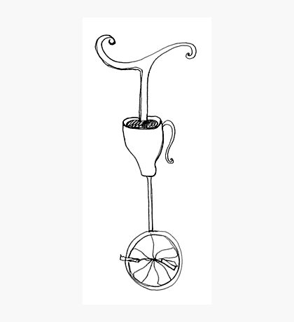 cup of whimsy tea Photographic Print