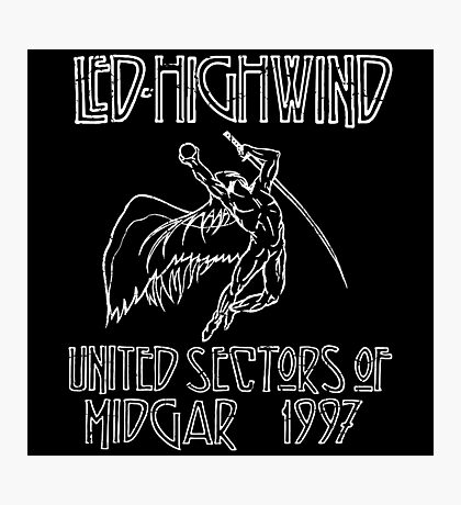 Led Highwind Photographic Print