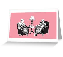 Grandmothers - Banksy Greeting Card