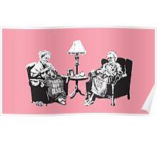 Grandmothers - Banksy Poster