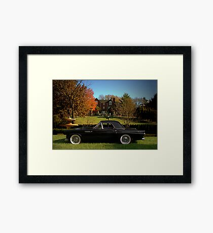 1955 Ford Thunderbird Framed Print