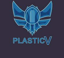 Plastic V text - Rank League of Legends T-Shirt