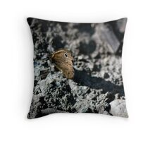 Leave a big shadow Throw Pillow