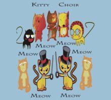 Kitty Choir T-shirt One Piece - Short Sleeve