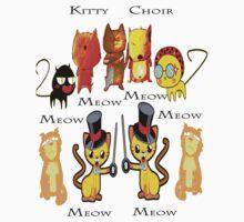 Kitty Choir T-shirt Baby Tee