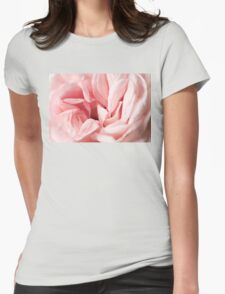 english rose macro Womens Fitted T-Shirt