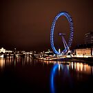 London Eye  by PhotoJK