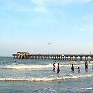 The Pier at Tybee Beach  by DearMsWildOne