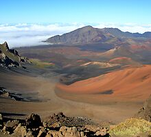 Haleakala Crater - Maui by Michael L. Colwell