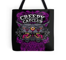 Creepy Cat Club Tote Bag