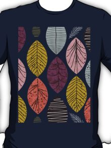 Nature Leaves by Seasons T-Shirt