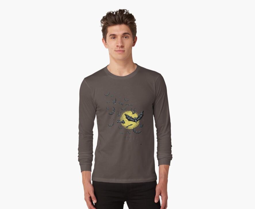 Bat Swarm (Shirt) by _ VectorInk